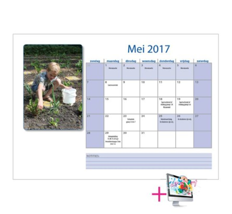 Schoolkalenders Bas bestellen