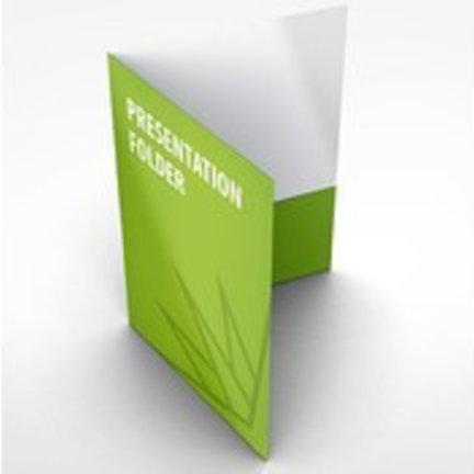 Bedrukte Presentatiemappen en rapportmappen