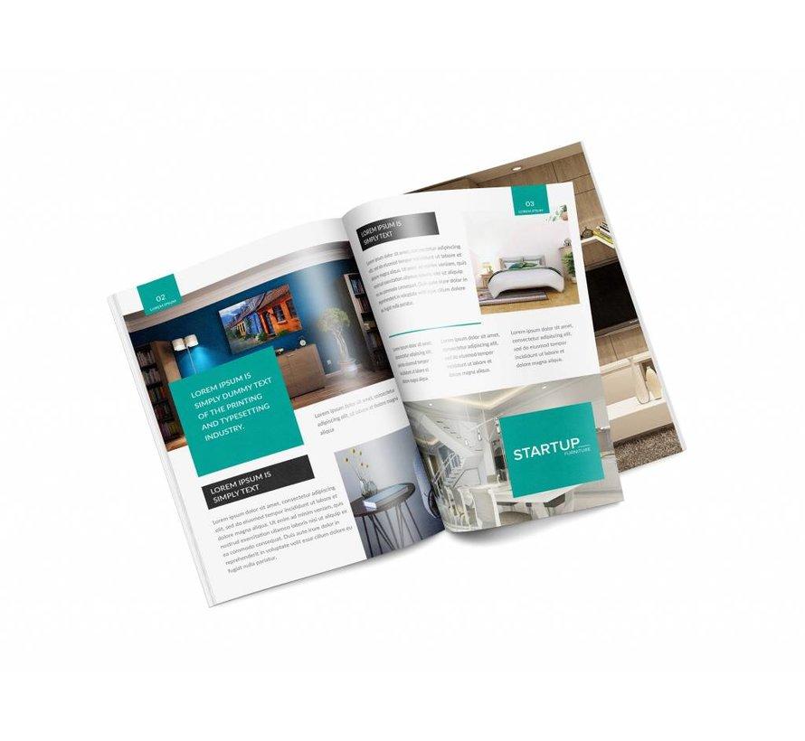 Brochures A5 8 pagina's