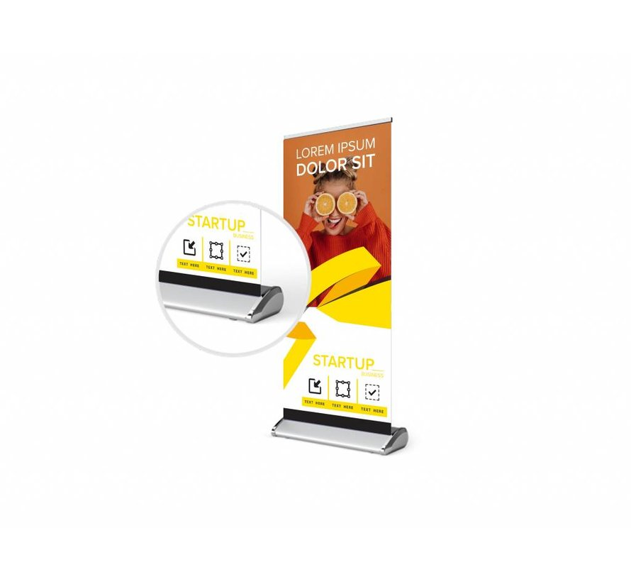 Deluxe roll-up banner 100 X 200 cm