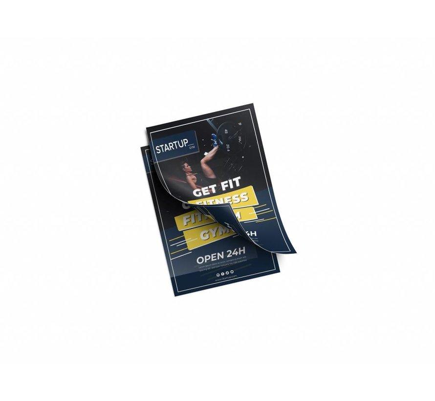 Flyers dubbelzijdig fullcolour 148x210mm (A5)