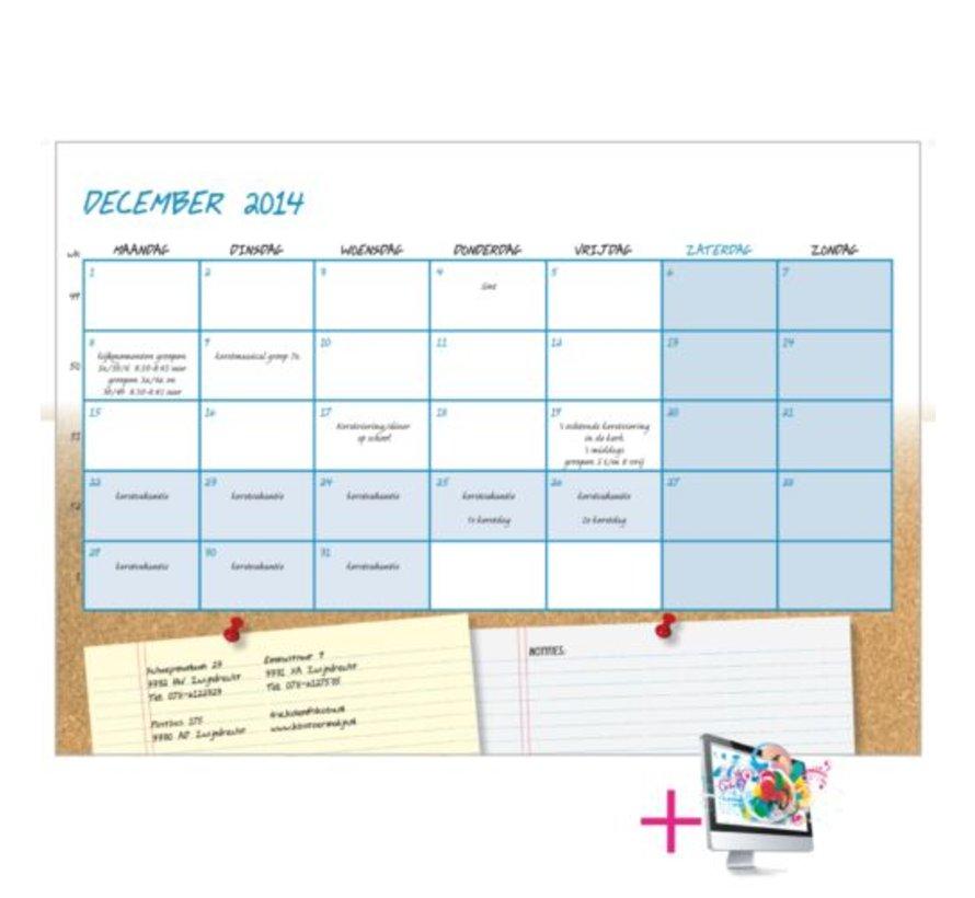 Schoolkalender Caroline