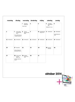PaperFactory Schoolkalender Christina