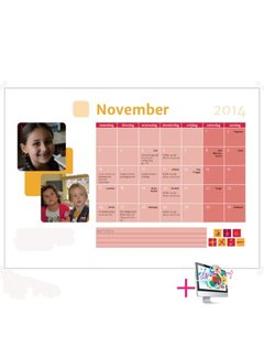 PaperFactory Schoolkalender Daisy