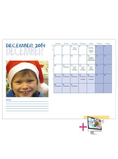 PaperFactory Schoolkalender Fleur