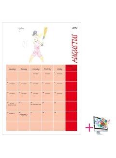 PaperFactory Schoolkalender Gerald