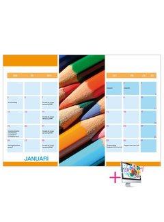 PaperFactory Schoolkalender Heidi