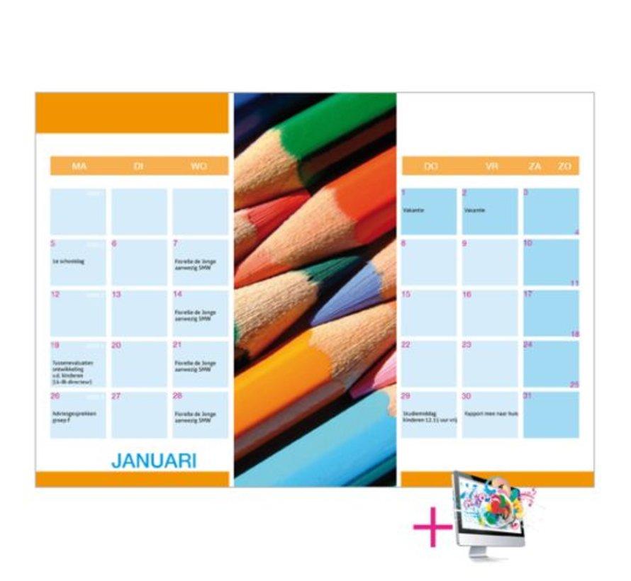Schoolkalender Heidi