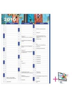 PaperFactory Schoolkalender Jennifer