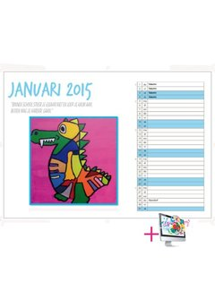 PaperFactory Schoolkalender Julia