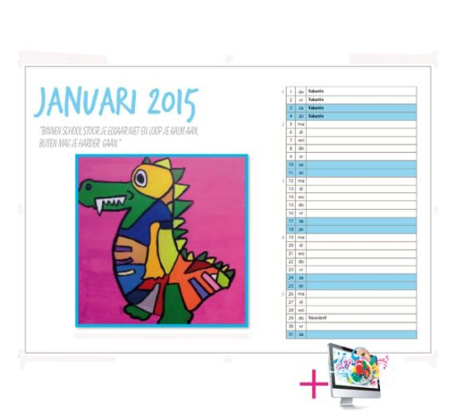 Schoolkalender Julia
