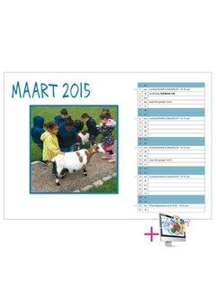 PaperFactory Schoolkalender Laura