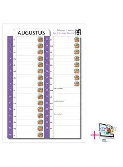 PaperFactory Schoolkalender Lisanne