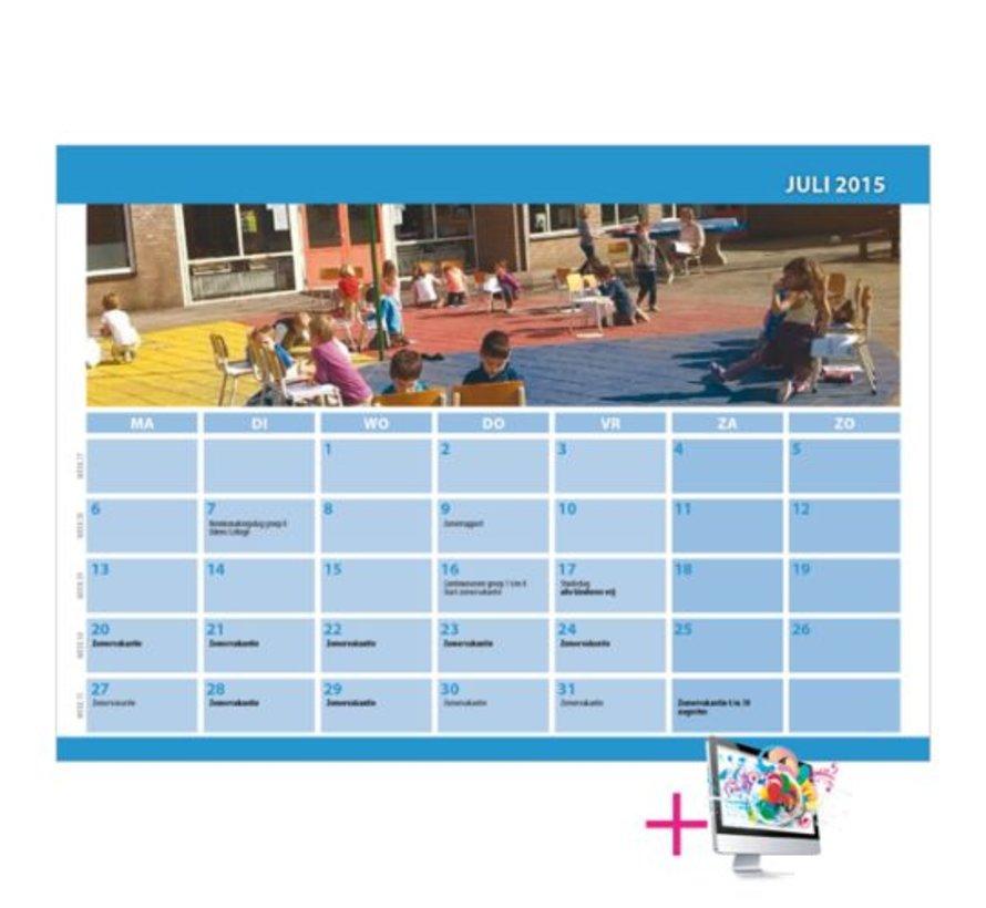 Schoolkalender Lucy