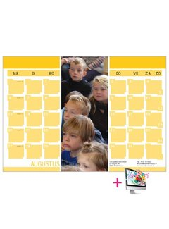 PaperFactory Schoolkalender Monique
