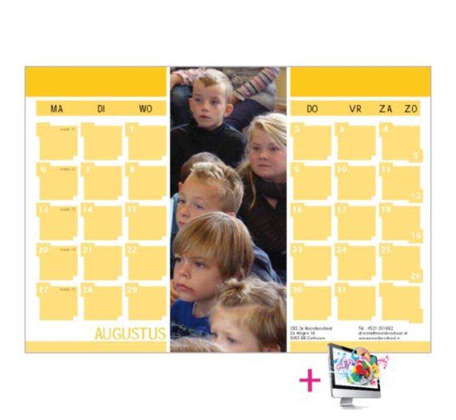 Schoolkalender Monique