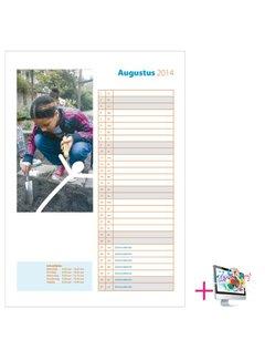 PaperFactory Schoolkalender Nathalie