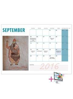 PaperFactory Schoolkalender Nienke