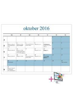 PaperFactory Schoolkalender Peter