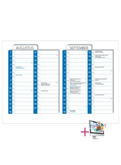 PaperFactory Schoolkalender Pieter