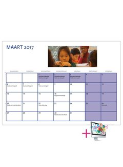 PaperFactory Schoolkalender Rebecca