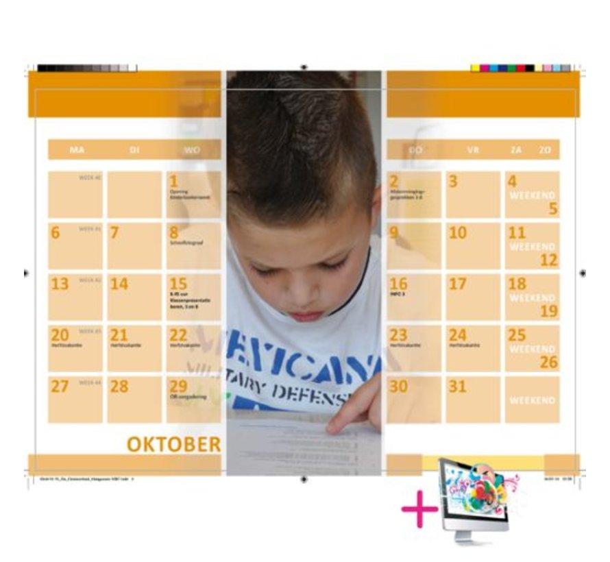 Schoolkalender Rob