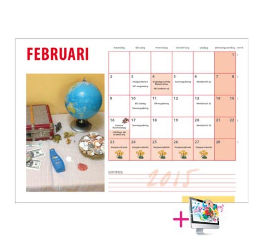 Schoolkalender Robert