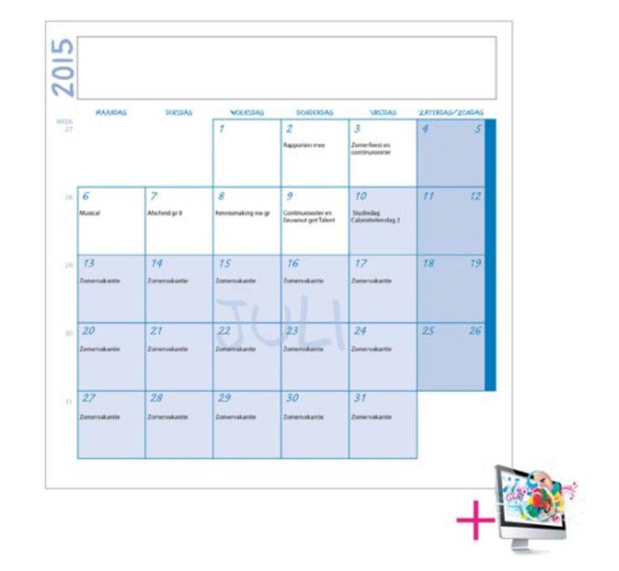 Schoolkalender Rutger
