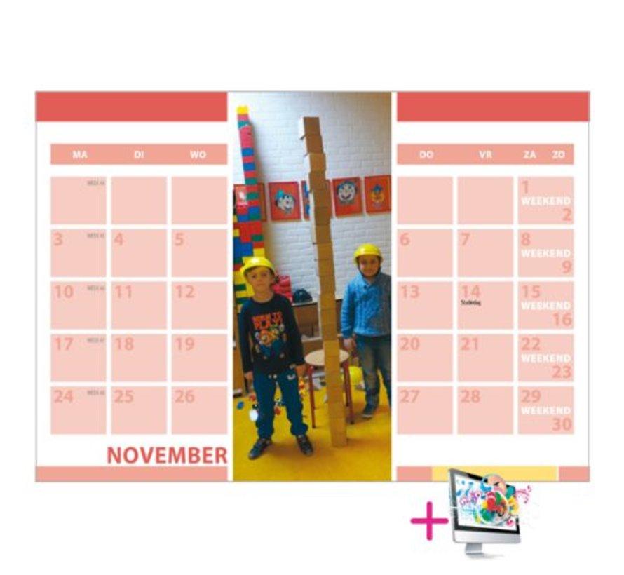 Schoolkalender Sebastiaan