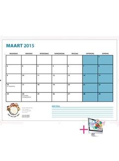 PaperFactory Schoolkalender Sophie