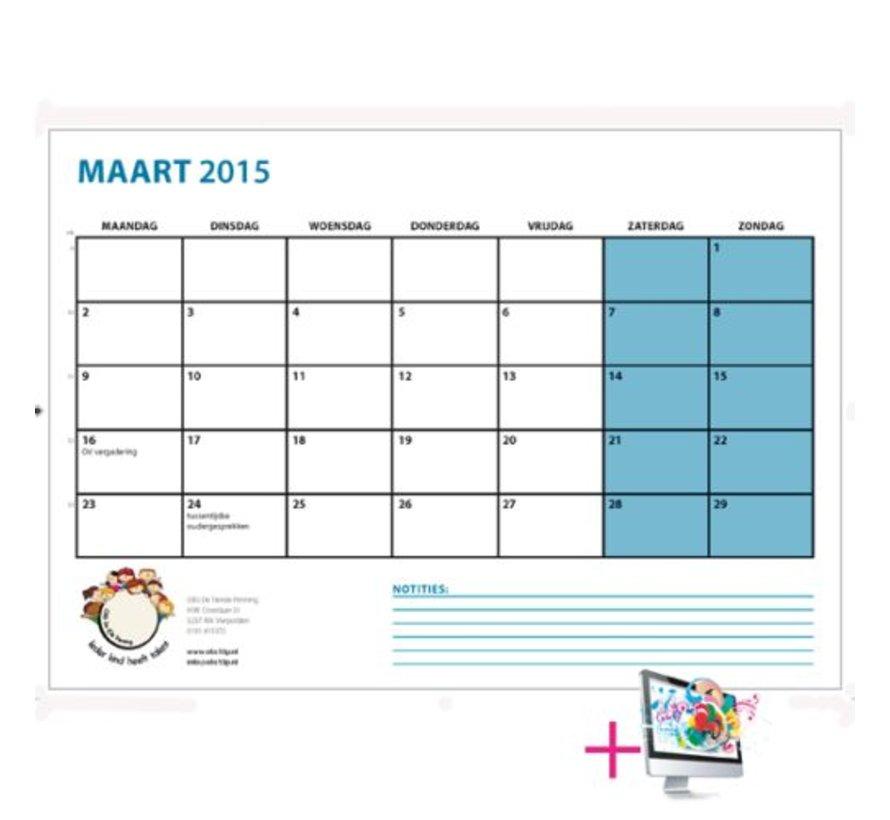 Schoolkalender Sophie
