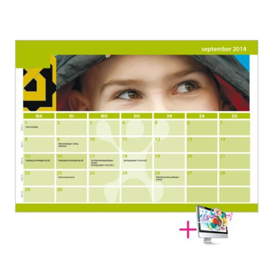 Schoolkalender Thomas