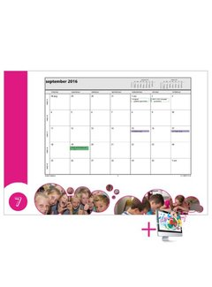 PaperFactory Schoolkalender Wendy