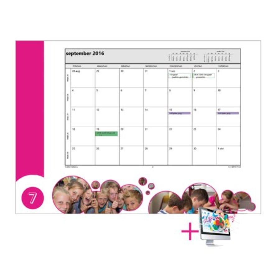Schoolkalender Wendy