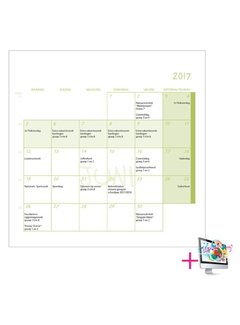 PaperFactory Schoolkalender Willem