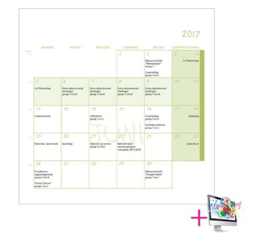 Schoolkalender Willem