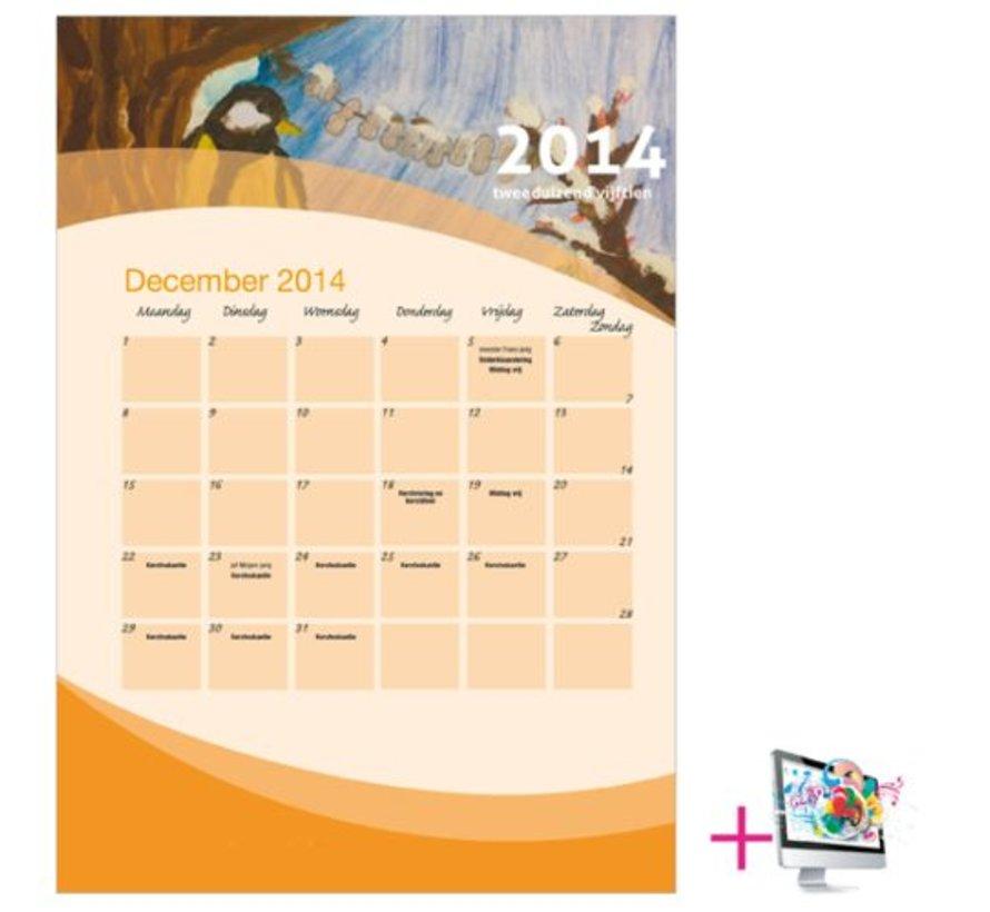 Schoolkalender Yvonne