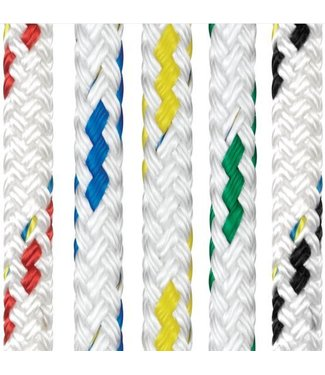 Liros Braid on Braid Polyester Colour Fleck Rope (Reel)
