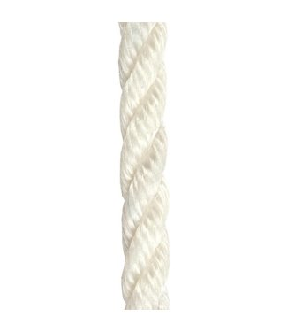 Kingfisher White Three (3) Strand Staple Polyprop Floating Mooring Line Rope