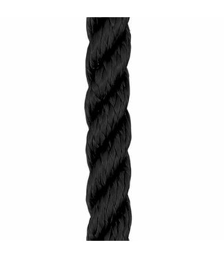 Liros Three (3) Strand Nylon Rope Black