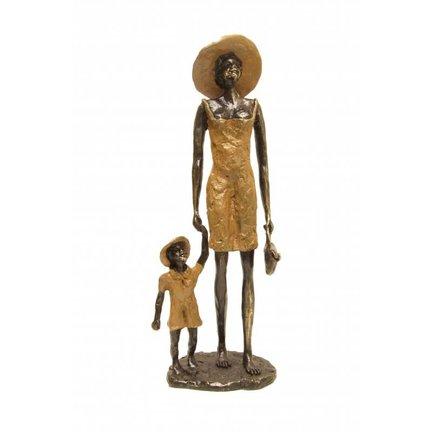 Handgemaakte bronzen beeldjes