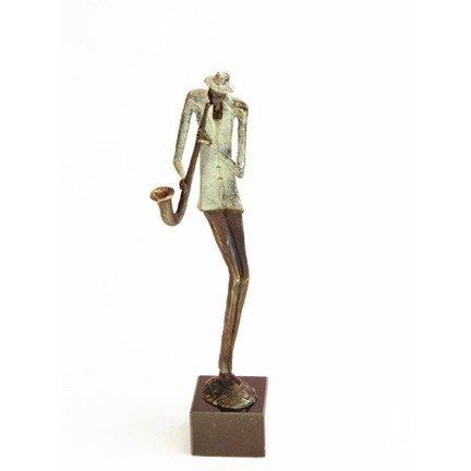 Muziek beeldjes Bronzen beelden en sculpturen
