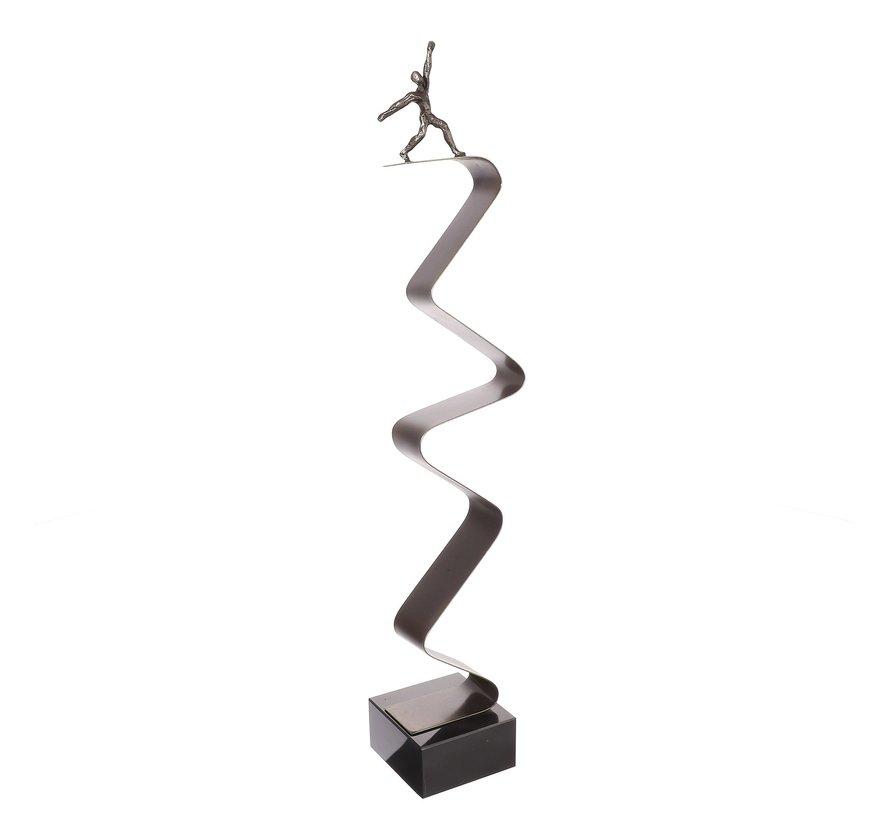 Succesvolle onderneming sculptuur