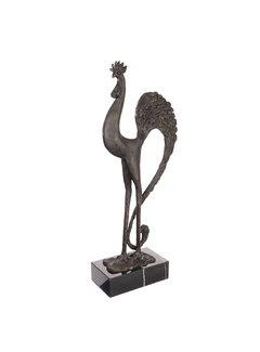 Bronzen beeld de Haan