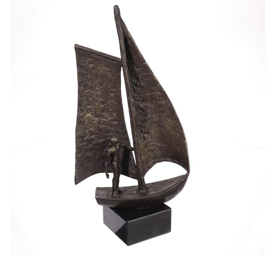 Ger van Tankeren - Sail sculptuur.