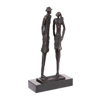 Bronzen beeld In overleg