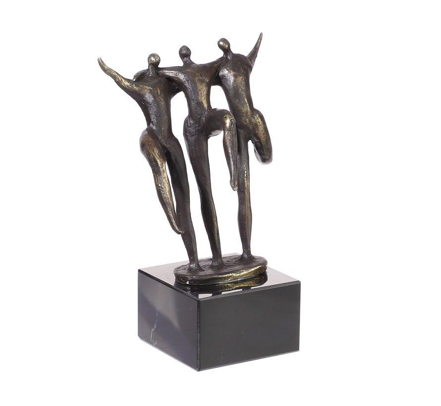 Verbondenheid door eenheid sculptuur kleine versie.
