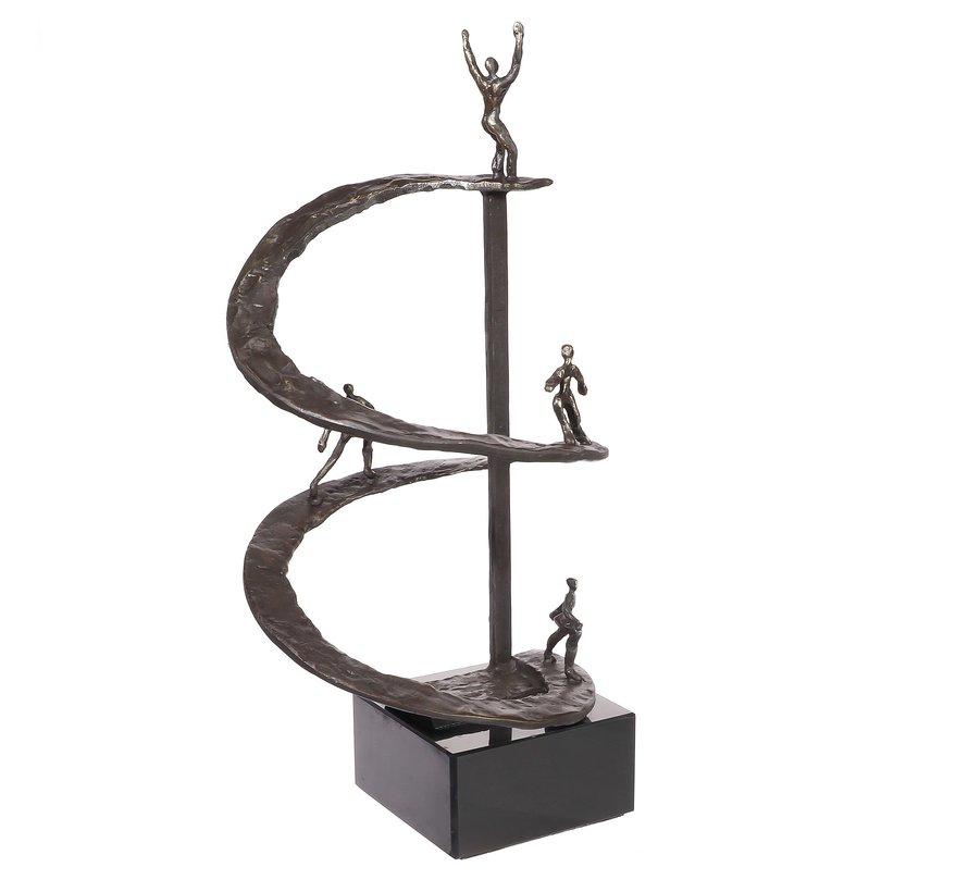Positieve Spiraal sculptuur.