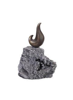 Bronzen beeld zeeleeuw