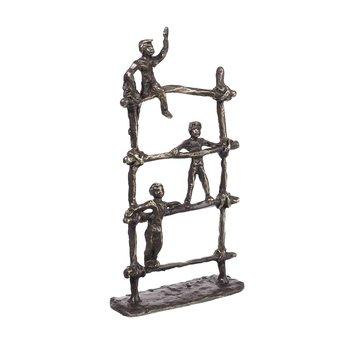 Bronzen beeld Speeltuin